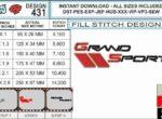 Corvette-grand-sport-logo-embroidery-design-spec