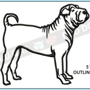 sharpei-embroidery-outline-design-blucatreddog.is