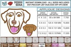 chesapeake-bay-retriever-embroidery-design-INFOCHART