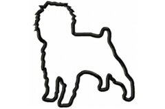 Affenpinscher-Applique-design