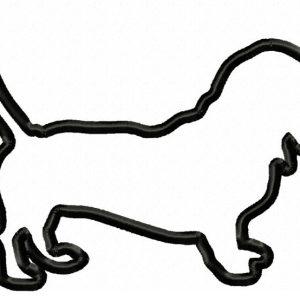 Basset-Hound-Applique-Design