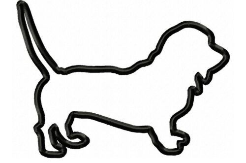 Basset-Hound-Applique-Design