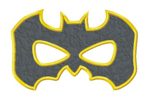 Batman-Mask-In-the-Hoop-Embroidery-Design