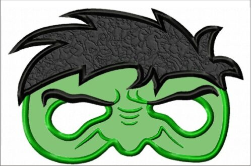 Hulk-Mask-In-the-Hoop-Embroidery-Design