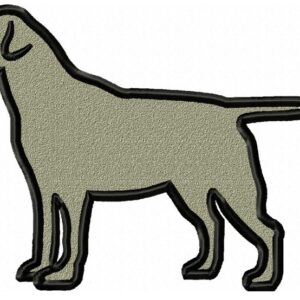 Labrador-Applique-design-full-colour