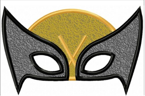 Wolverine-XMen-Mask-In-the-Hoop-Embroidery-Design