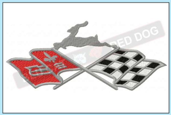 Chevy-impala-flags-logo-blucatreddog.is