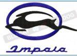 Chevy-impala-embroidery-design-blucatreddog.is