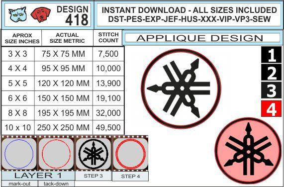 yamaha-logo-applique-design-infochart
