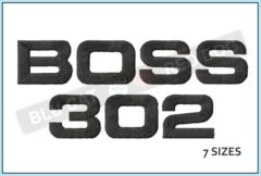 Mustang-Boss-302-Logo-embroidery-design-blucatreddog.is