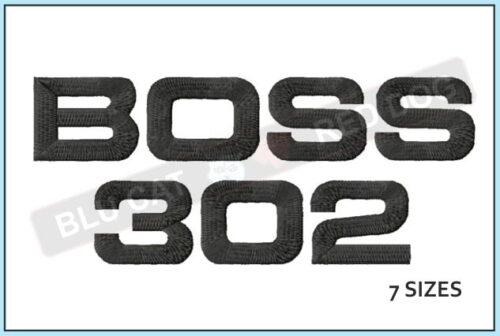 Mustang-Boss-302-Logo-embroidery-design-blucatreddog.is