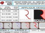 Roush-mustang-applique-design-infochart