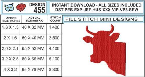 bull-head-embroidery-design-infochart