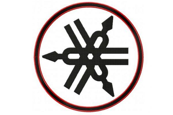 Yamaha-logo-applique-outline-embroidery-design