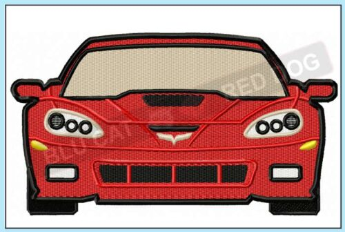 corvette-c6-frontend-embroidery-design-blucatreddog