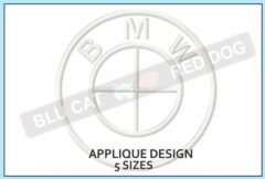 BMW-embroidery-applique-design-blucatreddog.is