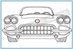 corvette-c1-1958-redwork-embroidery-design-blucatreddog