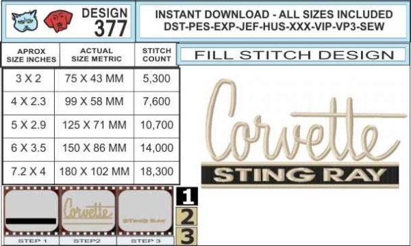corvette-stingray-embroidery-design-spec