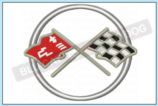 covette-c2-embroidery-logo-blucatreddog