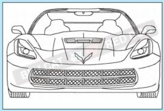 corvette-c7-front-end-redwork-embroidery-design-blucatreddog
