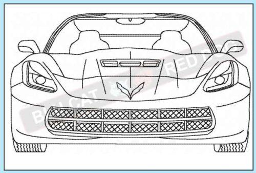 corvette-c7-front-end-redwork-embroidery-design-blucatreddog