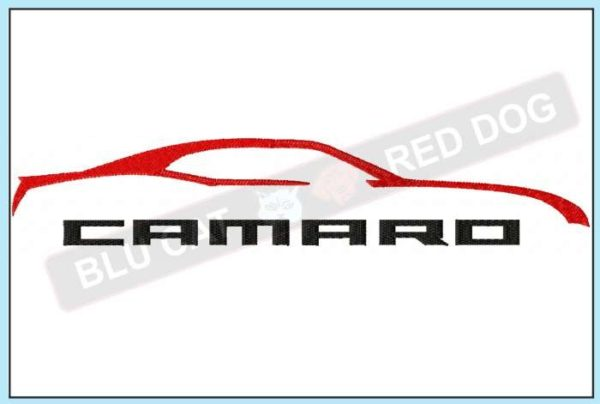 chevy-camaro-outline-embroidery-design-blucatreddog.is