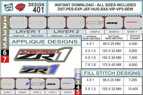 corvette-zr1-embroidery-logo-infochart