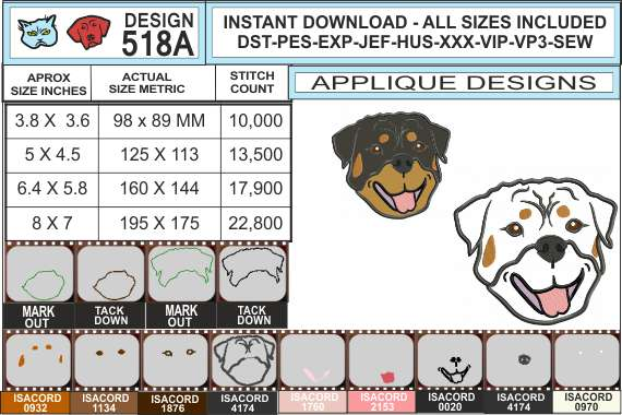 rottweiler-head-applique-design-INFOCHART
