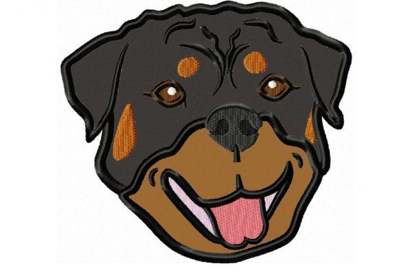 Rottweiler-Head-applique-design-full-color