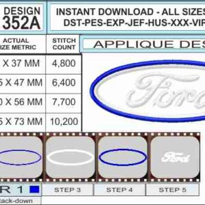 Ford-logo-applique-design-infochart