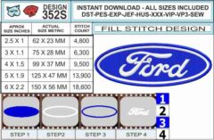 Ford-logo-embroidery-design-infochart