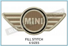 mini-cooper-embroidery-logo-blucatreddog.is
