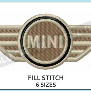 mini-cooper-embroidery-logo-blucatreddog.is