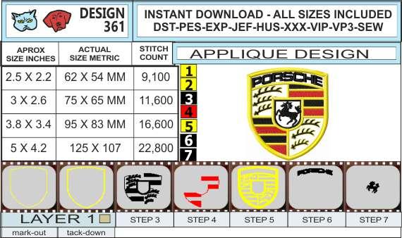 porsche-embroidery-logo-infochart
