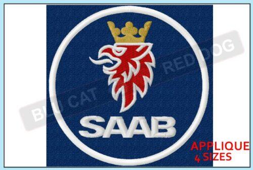 saab-embroidery-logo-blucatreddog.is
