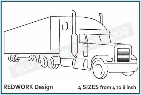 40-foot-truck-embroidery-redwork-design-blucatreddog.is