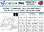 Big-rig-embroidery-redwork-design-infochart