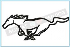 Mustang-applique-design-blucatreddog.is