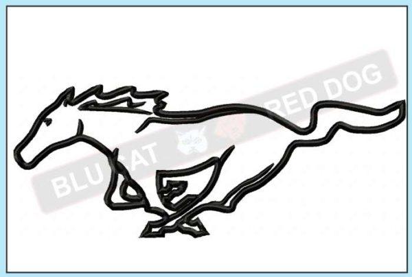 Mustang-applique-design-blucatreddog.is