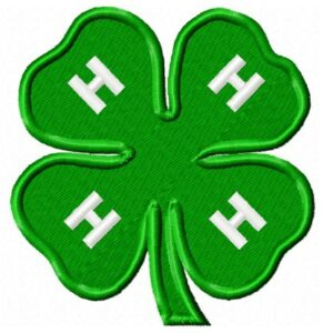 4H-club-logo-embroidery-design