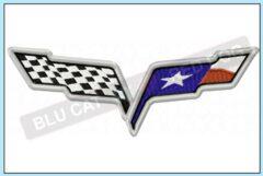 Corvette-c6-texas-flag-embroidery-design-blucatreddog
