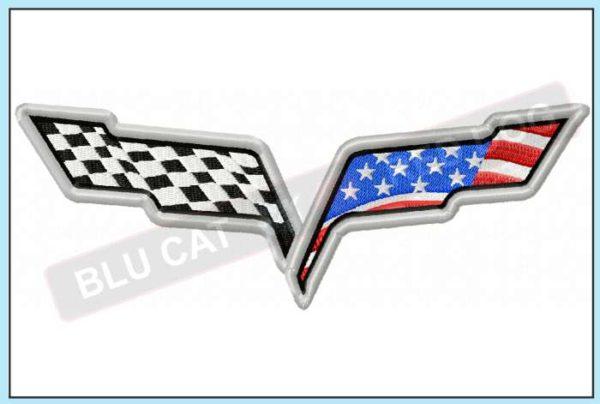 Corvette-c6-usa-flag-embroidery-design-blucatreddog