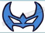 Nightwing-embroidery-mask-design-BLUCATREDDOG.IS