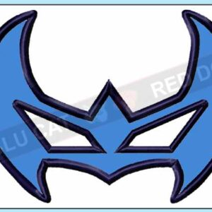 Nightwing-embroidery-mask-design-BLUCATREDDOG.IS