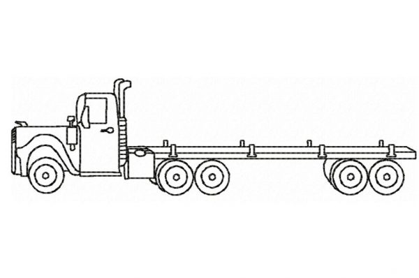 Truck-Flatbed-Outline-silhouette-redwork-embroidery-design