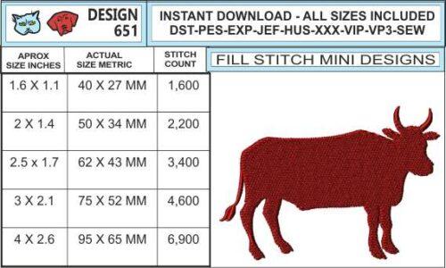 bull-silhouette-embroidery-design-infochart