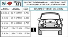 mini-cooper-vintage-outline-embroidery-design-infochart