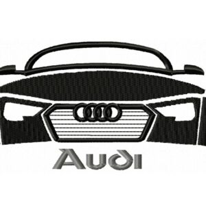 Audi-Outline-embroidery-design