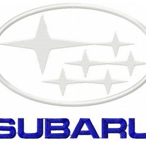 Subaru-Logo-applique-design