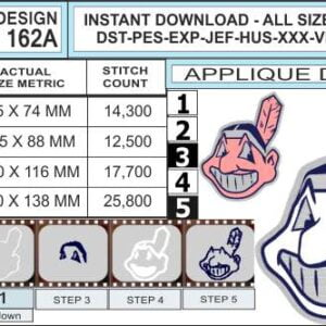 cleveland-indians-applique-design-infochart